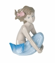 "Nao by Lladro Porcelain ""Sea maiden"" Figurine"