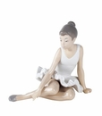 "Nao by Lladro Porcelain ""Seated ballet"" Figurine"