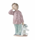"Nao by Lladro Porcelain ""Sleepy-Head"" Figurine"