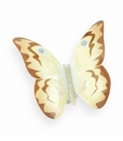 "Nao by Lladro Porcelain ""Soft honey"" Butterfly Figurine"