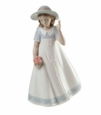 "Nao by Lladro Porcelain ""Spring stroll"" Figurine"