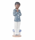 "Nao by Lladro Porcelain ""Sunday school"" Figurine"