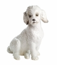 """Nao by Lladro Porcelain """"Sweet poodle"""" Figurine"""