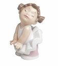"Nao by Lladro Porcelain ""Sweet pose"" Figurine"