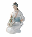 "Nao by Lladro Porcelain ""The decorator"" Figurine"