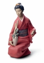 Nao by Lladro Porcelain The Decorator Figurine