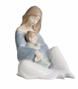 "Nao by Lladro Porcelain ""The greatest bond"" Figurine"