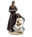 Nao by Lladro Porcelain The Holy Family Figurine