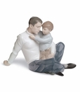 """Nao by Lladro Porcelain """"To love and protect"""" Figurine"""