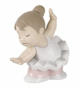 "Nao by Lladro Porcelain ""Touch toes"" Figurine"