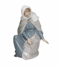 "Nao by Lladro Porcelain ""Virgin Mary"" Figurine"