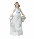 "Nao by Lladro Porcelain ""Walking on air"" Figurine"