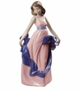 Nao by Lladro Porcelain Walking On Air Special Edition