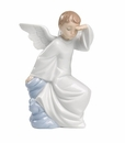 "Nao by Lladro Porcelain ""Watching over you"" Figurine"