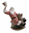 """Nao by Lladro Porcelain """"What a fun ride!"""" Figurine"""