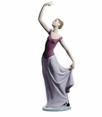 Nao by Lladro Porcelain The Dance Is Over Special Edition Figurine