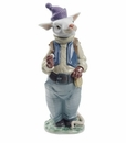 Nao by Lladro Porcelain Tooth Mouse Figurine