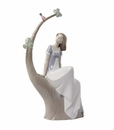 "Nao by Lladro Porcelain ""A lazy afternoon"" Figurine"