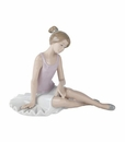 "Nao by Lladro Porcelain ""Dancer rested"" Figurine"