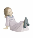 "Nao by Lladro Porcelain ""Just like mum"" Figurine"