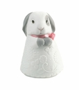 "Nao by Lladro Porcelain ""Little bunny (pink)"" Figurine"