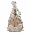 "Nao by Lladro Porcelain ""Rococo girl with letter"" Figurine"