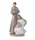 "Nao by Lladro Porcelain ""The Holy Family"" Figurine"