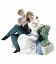 "Nao by Lladro Porcelain ""The perfect couple"" Figurine"