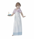 "Nao by Lladro Porcelain ""To light the way"" Figurine"