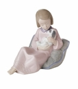 "Nao by Lladro Porcelain ""True friends"" Figurine"