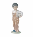 "Nao by Lladro Porcelain ""Wanna play?"" Figurine"