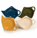 Natural Colors Assorted Tea Bag Holders (4) by Hues and Brews