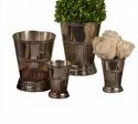 Nickel Fluted Mint Julep Cup Home Decor