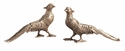 Nickel Pheasants Home Decor