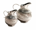 Nickel Swirl Pitcher Home Decor
