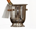 Nickel Wine Cooler Home Decor