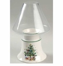 Nikko China Dinnerware Christmas Glassware Candle Lamp