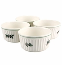 Nikko China Dinnerware Christmas Ovenware Ramekin (Set of 4)
