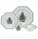 Nikko China Dinnerware Christmastime 4 Piece Place Setting
