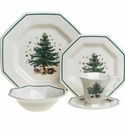 Nikko China Dinnerware Christmastime 5 Piece Place Setting