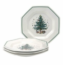 Nikko China Dinnerware Christmastime Dinner Plate (Set Of 4)
