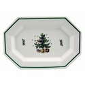 Nikko China Dinnerware Christmastime Oval Platter