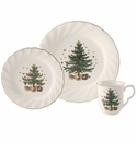 Nikko China Dinnerware Happy Holidays 12 Piece Dinner Set