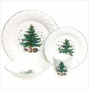 Nikko China Dinnerware Happy Holidays 4 Piece Place Setting