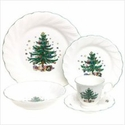 Nikko China Dinnerware Happy Holidays 5 Piece Place Setting