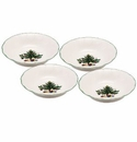 Nikko China Dinnerware Happy Holidays Fruit Bowls (Set Of 4)