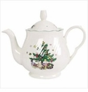 Nikko China Dinnerware Happy Holidays Teapot & Lid