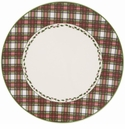 Nikko China Dinnerware Tartan Dinner Plate (Set Of 4)