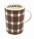 Nikko China Dinnerware Tartan Mugs (Set Of 4)