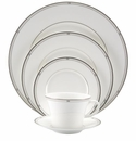 Nikko China Jaz 5 Piece Dinnerware Place Setting
